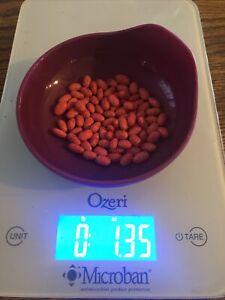 White Volunteer Half Runner Green Bean Seeds 1 oz