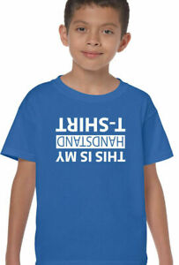 This Is My Handstand T Shirt Kids Girls Boys Funny Gymnastics Acrobat