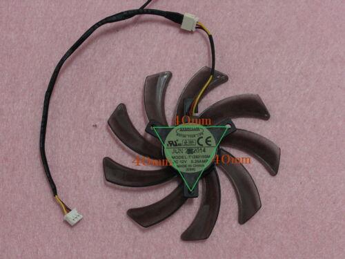 95mm GIGABYTE GTX560 GTX660 Dual Fan Replaement T129215SM 40mm 3Pin 0.25A R185