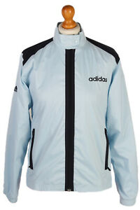 Vintage-Adidas-Ladies-Shell-Tracksuit-Top-Womens-90s-Sports-Wear-M-Blue-SW1857