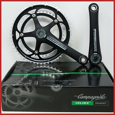 Sporting Goods Nos Campagnolo Veloce 10s Speed Crankset 53/39t 172.5mmultra Torque Road Bike In Pain Cycling