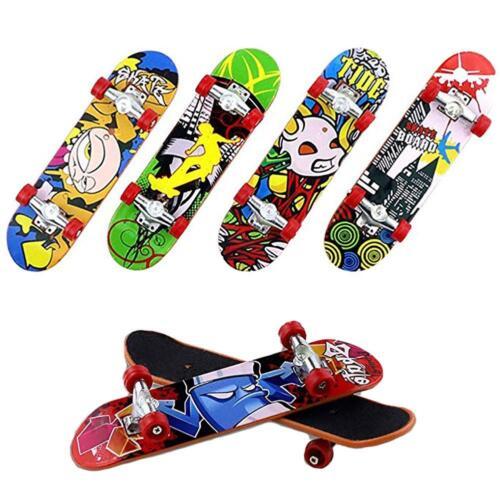 Mini Fingerboard Tech Deck Finger Skate Board Boy Kid Children Party Cute Toy