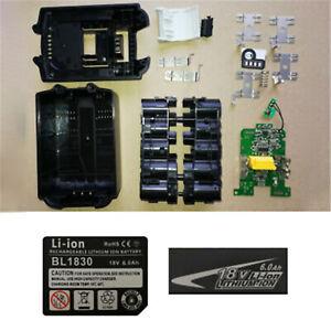 Para-Makita-18V-BL1830-B-L1840-BL1850-Li-ion-Bateria-de-litio-caso-tarjeta-3-4-5-6Ah