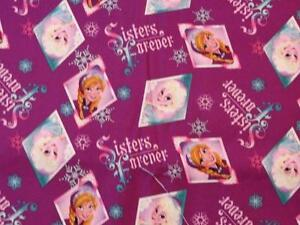 Details about crib toddler sheet or 2pc set cotton frozen sisters