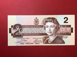 America-Canada-2-Dolares-Dollars-1986-Fds-UNC-P-94a