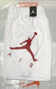 2ef8d4d87c5 Details about NIKE AIR JORDAN JUMPMAN AIR MENS FLEECE SHORTS SIZE Large  Brand New With Tags