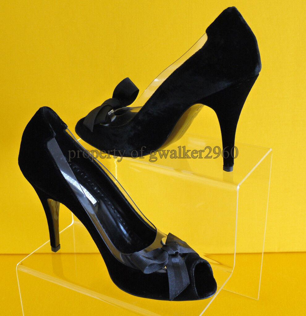 GENUINE STELLA STELLA GENUINE McCARTNEY VELVET Schuhe NEW 3453af