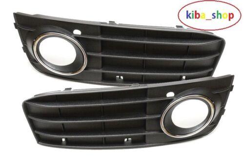 Nouvelle Audi A4 B8 07-11 droit gauche pare-chocs avant inférieur grilles avec feux de brouillard Trou