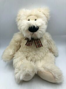 Russ-Berrie-Walter-White-Teddy-Bear-Bow-Tie-Plush-Kids-Soft-Stuffed-Toy-Animal
