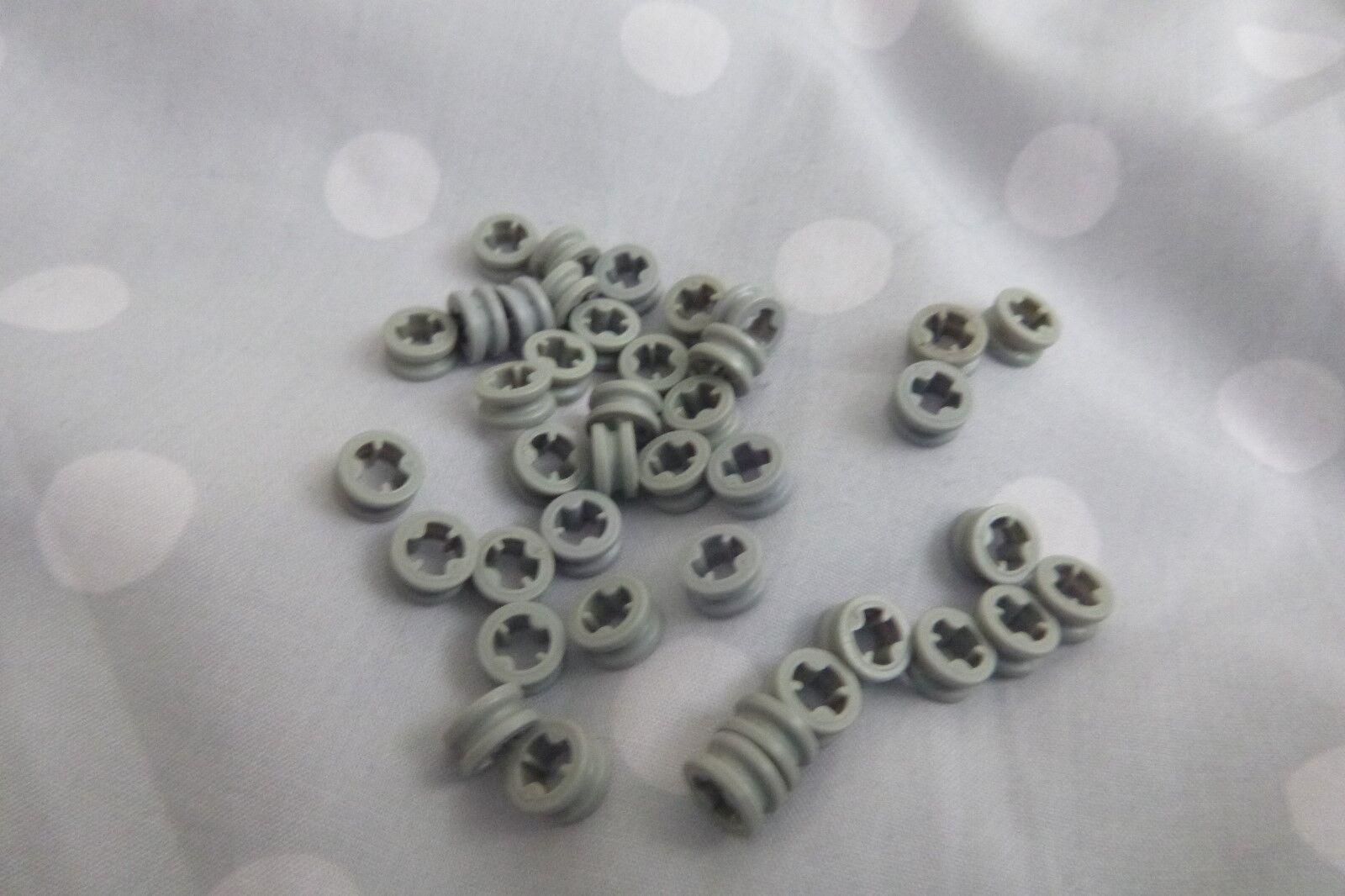 Lego Technic Bush Bush Bush 1/2 Smooth ref 4265 C In Mid Stone X 40pcs 997ad8