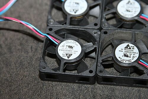 4 Delta Brushless Cooling Fan ASB03512HA-A 3 Pin HR54-500 35mm x 35mm x 10mm
