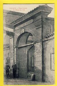 cpa-Vue-RARE-FRANCE-81-LAVAUR-Tarn-Porte-d-039-Entree-de-L-039-HOTEL-de-VILLE