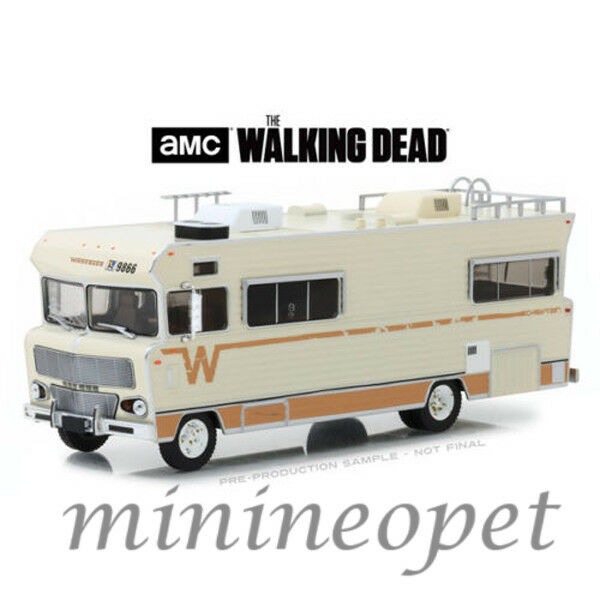Greenlight 1/43 The Walking Dead Dale's 1973 Winnebago Chieftan RV