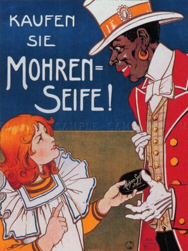 COMMERCIAL ADVERT MOOR SOAP MOHREN GERMANY POSTER ART PRINT HOME PICTURE BB1921A