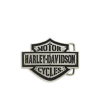 "Harley-Davidson Gürtelschnalle Buckle ""B + S"" *97626-15VM*"