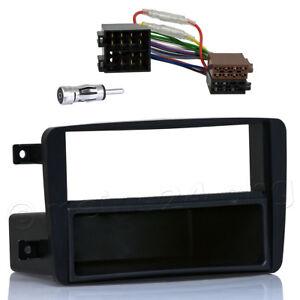 Radioblende-fuer-MERCEDES-C-Klasse-W203-Vito-Viano-Adapter-Kabel-DIN-Rahmen