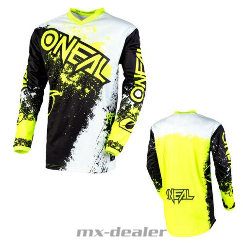 2020 O/'Neal Element Impact Schwarz Neongelb Jersey mx motocross mtb Enduro DH