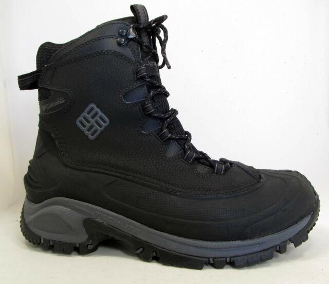 7b6c2eb7486 NEW Columbia Bugaboot Omni Heat Insulated Waterproof Mens Winter Boots 9  Black