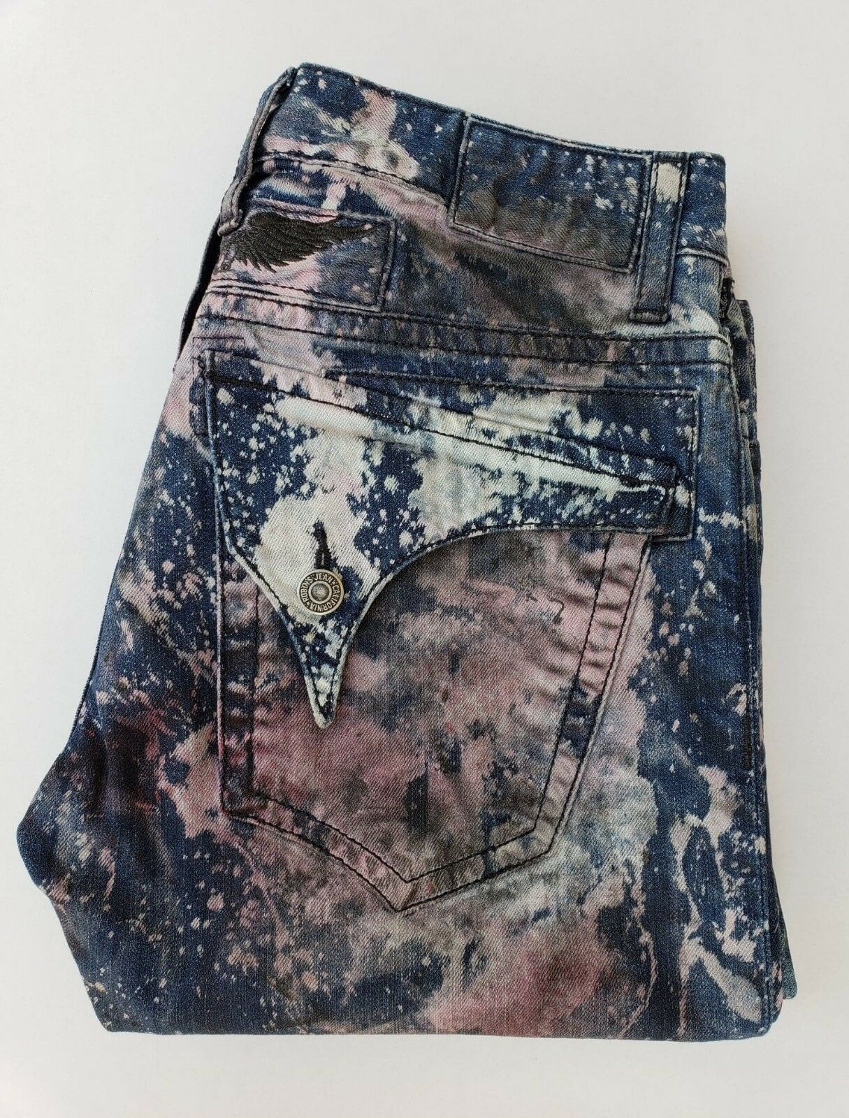 New Men'S ROBIN'S JEAN sz 42 Straight Leg Jeans -Universe Wash