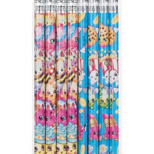Shopkins Pencil Favors 8//Pkg Birthday Party Supplies free shipping