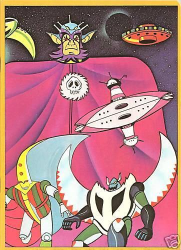 """ATLAS UFO ROBOT /""""RE VEGA/"""" COLORATISSIMO QUADERNO ANNI 80 /""""GOLDRAKE/"""" NUOVO"""