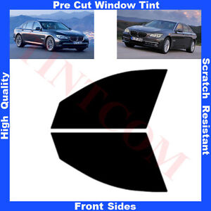 Pre-Cut-Window-Tint-BMW-7-Series-F01-4D-Saloon-2008-Front-Sides-Any-Shade