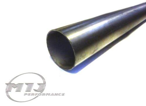 """3/"""" Diameter 76mm 0.5m T304 Stainless Steel Exhaust Tube Pipe 50cm metre meter"""