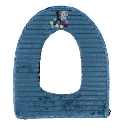 Cute Cat and Tree Toilet Seat Cushion Closestool Washable Mat Cover Pad Q