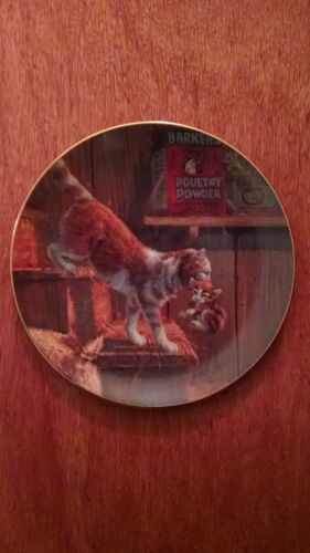 """On The Move"" Lowell Davis collector plate"