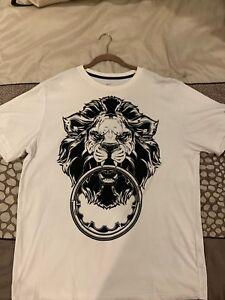 """4a97263f Nike LeBron James """"Lion Crown"""" Dri-Fit T-Shirt White Men's XXL   eBay"""
