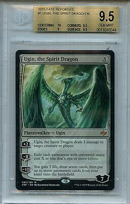 the Spirit Dragon x1 Ugin 1x English Magic MTG Fate Reforged Slight Play