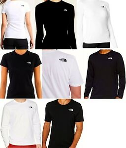 8f1499b3e Details about The North Face T-Shirt Short/Long Sleeve Black or White  Men's, Women's & Youth