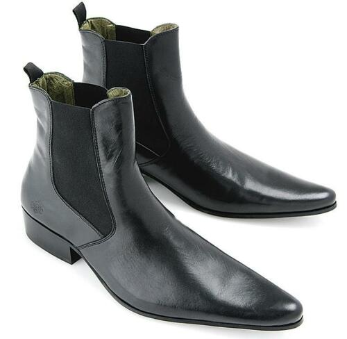 NEW Chelsea Boots Revolver Black 60s 70s Style by IKON