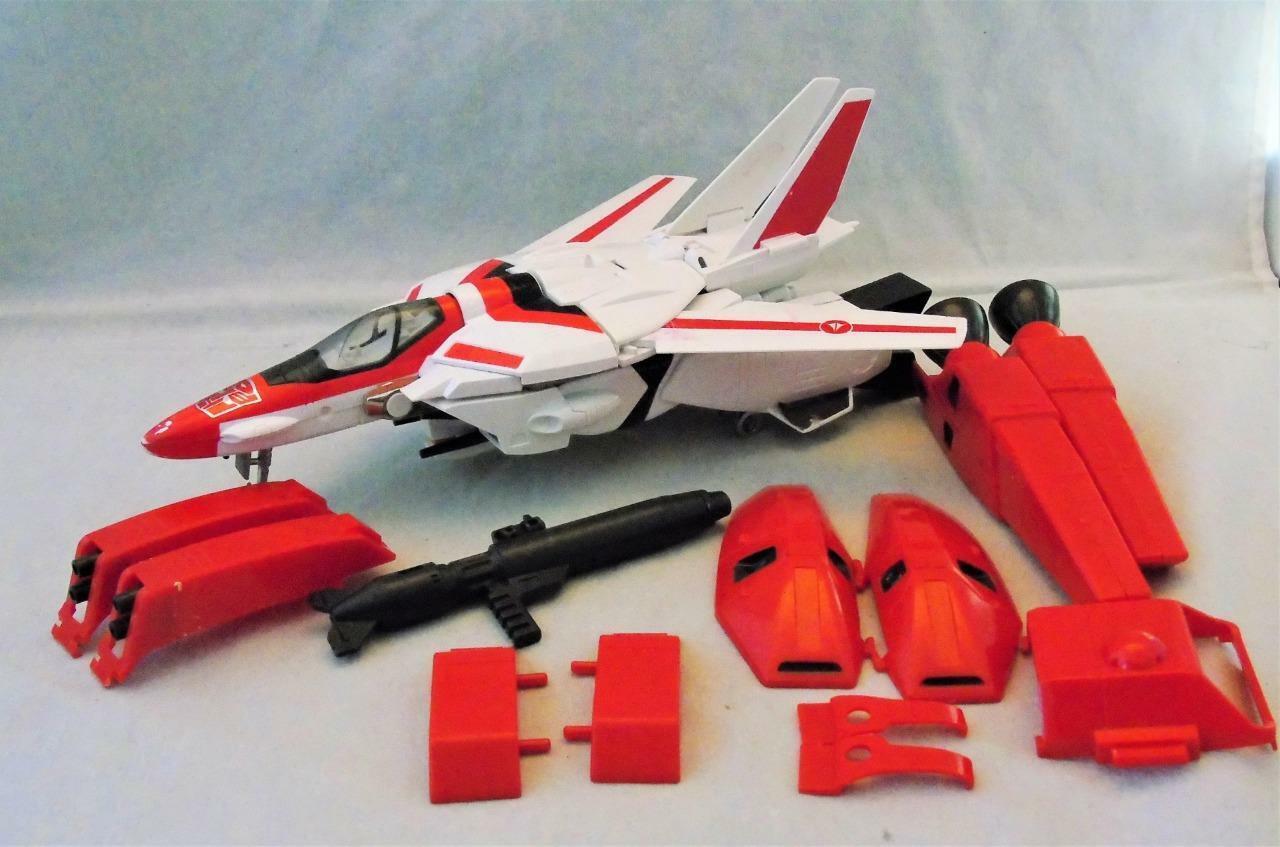 Transformers Original G1 1985 Jetfire Macross Painted Wing Near Complete