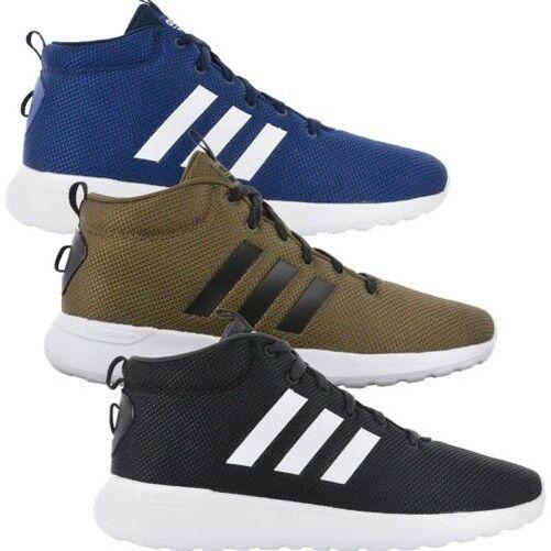 Adidas Men's Sneaker Cloadfoam Lite Racer mid Cf Shoes Memory Foam Trainers