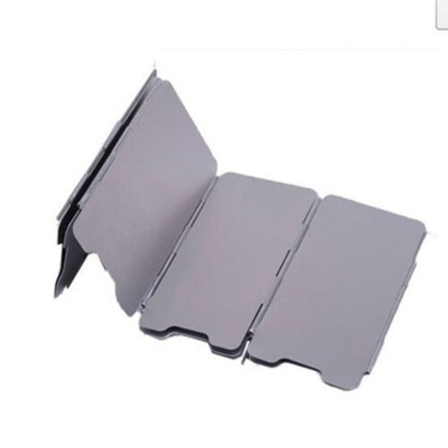 Wind Guard Camping Foldable Burner Windshield Wind Shield Camping Cooking Supply