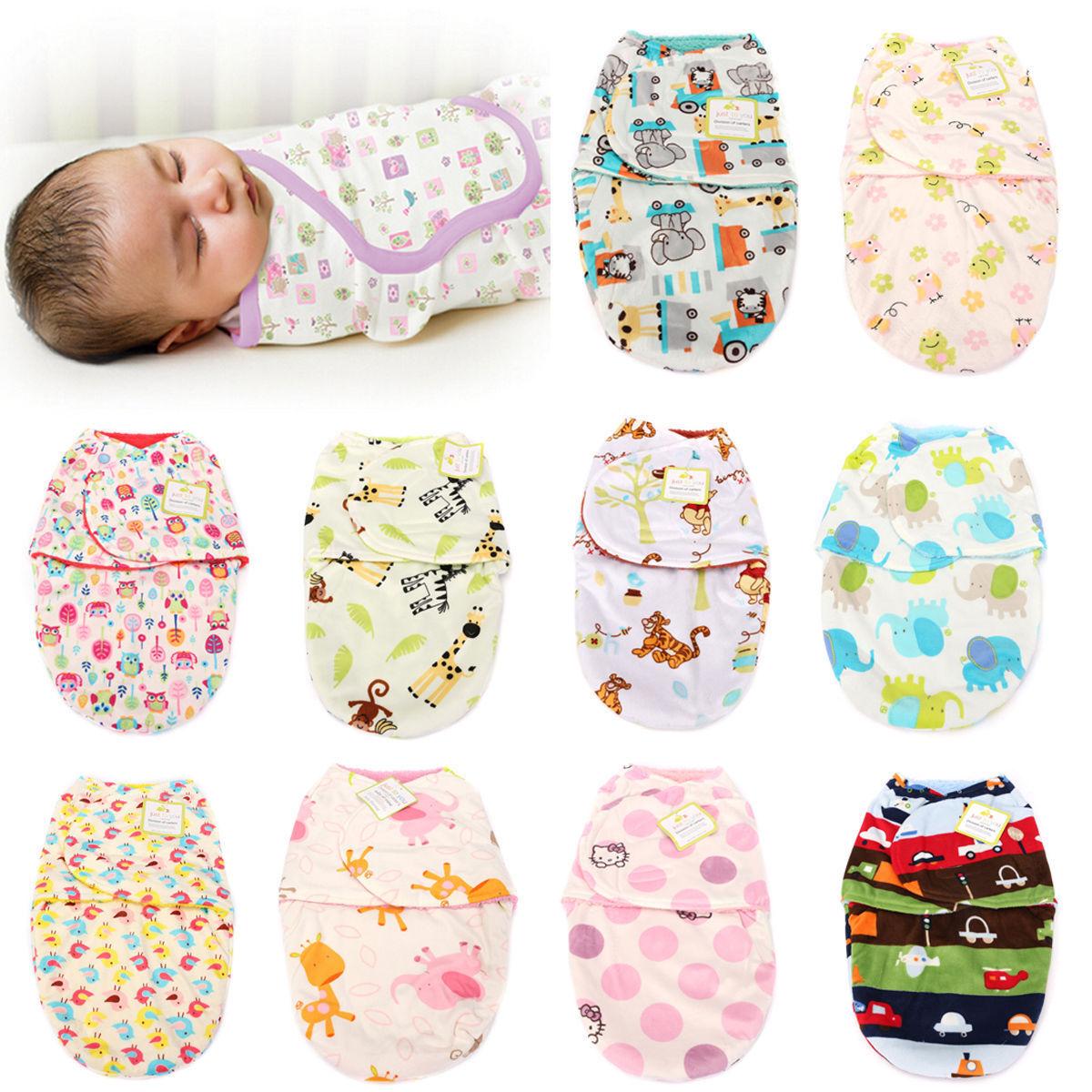 Newborn Swaddle Swaddling Baby Girl Boy Snuggle Wrap