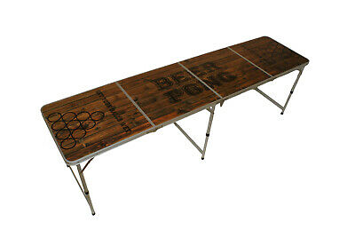 Beer Pong Table inkl Basket Pong Regelwerk Bier Pong Tisch 2 Campingtisch