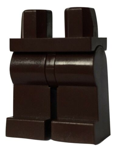 Lego Minifigure legs dark brown