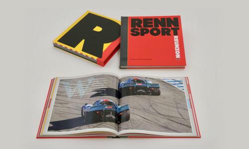 Porsche History of Rennsport Book Porsche Museum Book English Rennsport I-V