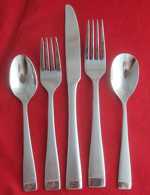 Oneida MERCER Stainless Frosted Handle Glossy Tip Silverware CHOICE Flatware