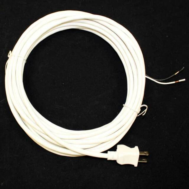 power cord for oreck xl xl2 upright vacuum cleaner 30 2 wire white power cord for oreck xl xl2 upright vacuum cleaner 30 2 wire white 58