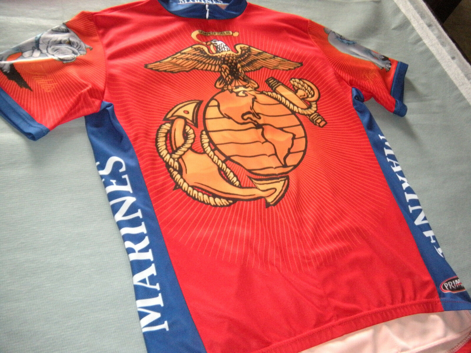 Primal Wear UNITED STATES MARINES Semperfidelis Cycling Jersey Adult XL