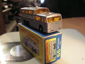 MATCHBOX-GREYHOUND-COACH-BUS-N-66