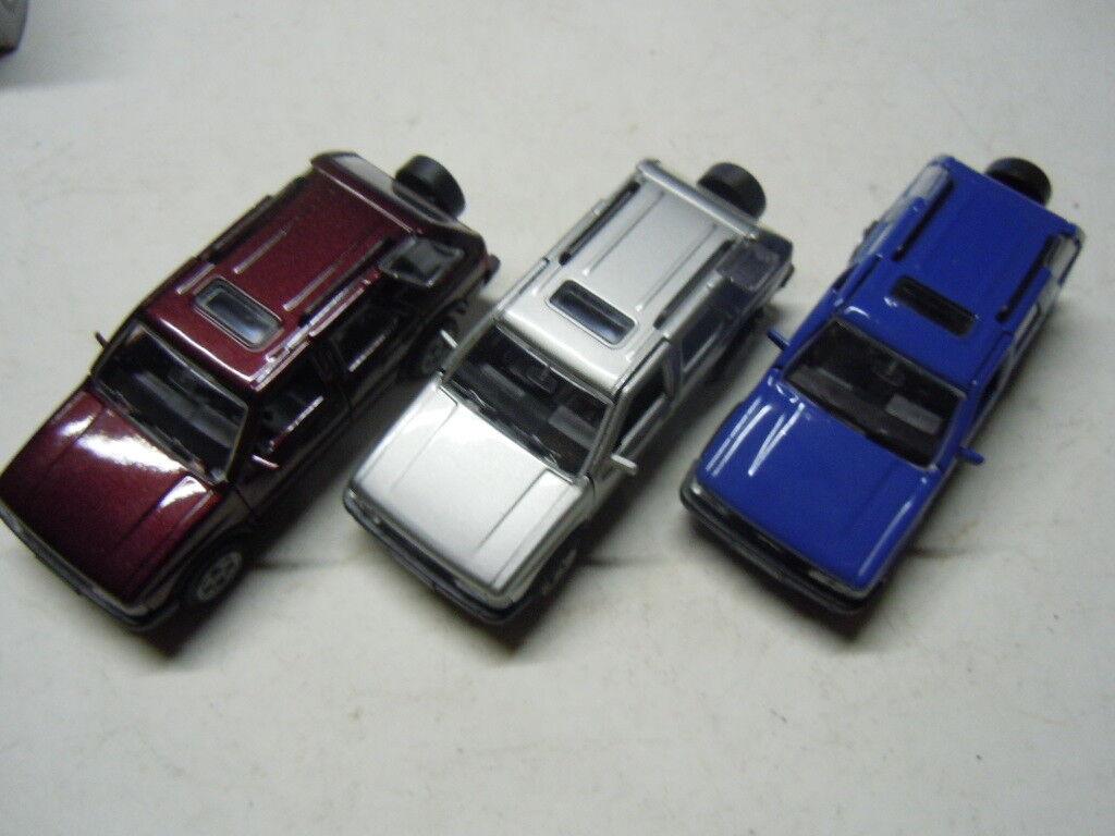 3 rare opel frontera 4 x 4 modelos de gama en 1 43 OVP nuevo