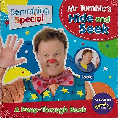 Something Special Mr Tumble's Hide and Seek BRAND NEW BOOK (Board book 2013)
