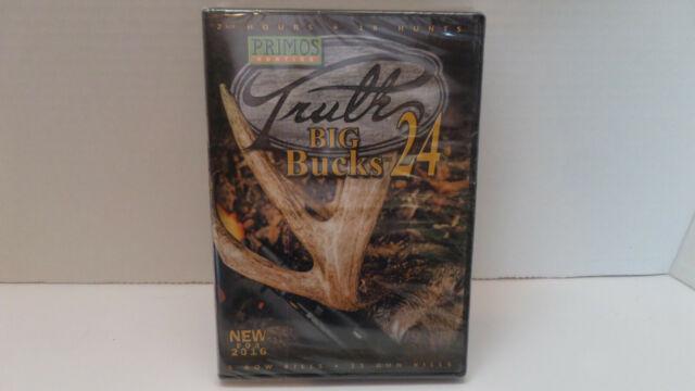 Primos Hunting: Truth 24 - Big Bucks - DVD - NEW/Sealed!