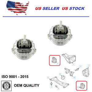Engine Mount Front Set Left Right For BMW 530I 530XI 06-07 535i 535xi 2008 3.0L