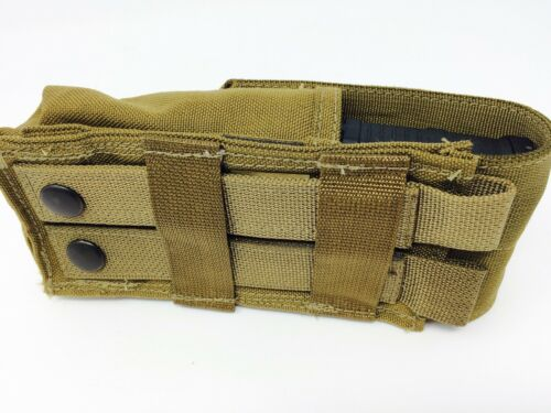NEW  USMC Coyote Brown Smoke Grenade Ammo Mag Magazine Pouch Military