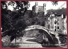 IMPERIA DOLCEACQUA 08 CASTELLO - PONTE Cartolina FOTOGRAFICA